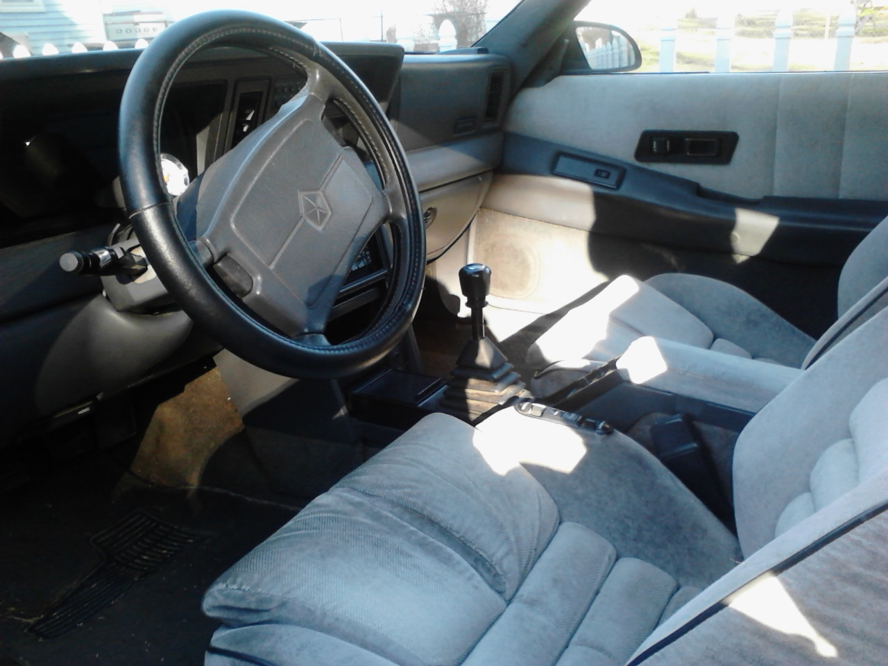 Sell on 1989 Dodge Daytona Interior